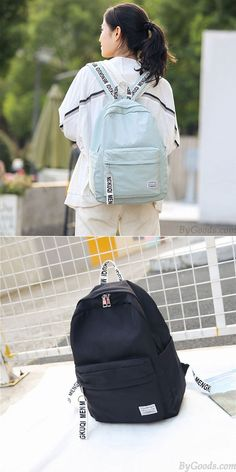 Retro Backpack, Travel Backpack, Cute Backpacks, School Backpacks, Skirt Fashion, Fashion Bags, Style Preppy, Outdoor Backpacks, School Bags For Girls