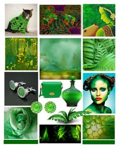 World of Greens by crystalglowdesign on Polyvore featuring polyvore and art