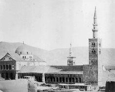 جامع الأموي ت. أنونيم عام 1850/ سوريا