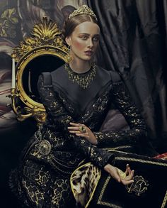 THE SACRED FREGOLA. Andrew Yee Captures Baroque Style for How to Spend It Magazine Balmain, Dolce & Gabbana, Lanvin, Valentino