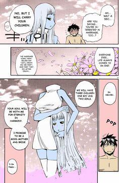 See more 'Monster Musume / Daily Life with Monster Girl' images on Know Your Meme! Monster Musume Manga, Monster Musume No Iru, Nichijou, Cute Anime Pics, Cute Anime Couples, Anime Demon, Manga Anime, Cute Comics, Funny Comics