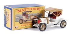 Matchbox Models of Yesteryear No.Y4-3 Opel Coupe 1909.