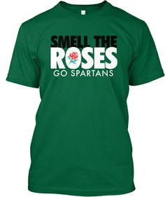 In honor of my MSU Spartans going to the Rose Bowl.