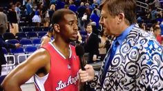 Chris Paul and Craig Sager