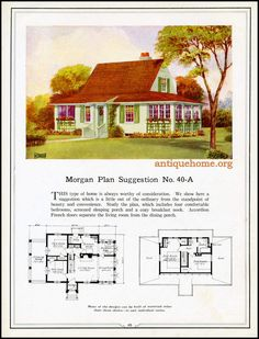 https://flic.kr/p/HPPbzM | Morgan House Plan Suggestions::Building with Assurance | Building with Assurance - 1923 www.antiquehome.org