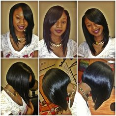 StyleSeat - Online Booking for Hair Stylists & Beauty Professionals Love Hair, Great Hair, Gorgeous Hair, Weave Hairstyles, Pretty Hairstyles, Afro, Natural Hair Styles, Short Hair Styles, Wigs With Bangs