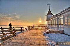 Beautiful sunset, Usedom