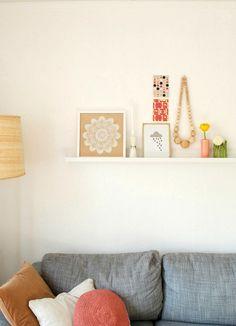 planken aan de muur.. on Pinterest  Planks, Picture Shelves and ...
