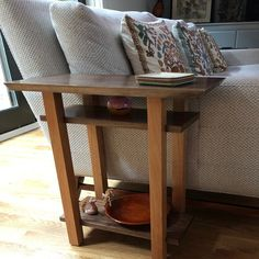 Tall Narrow Table for Small Spaces: Wood Entry Table, Small Hall Table, Tall Console Table- Handmade Custom Tables/ Modern Wood Furniture Small Hallway Table, Narrow Entry Table, Wood Entry Table, Wood Sofa Table, Entryway Console Table, Table For Small Space, Narrow Sofa, Narrow Entryway, Hallway Tables