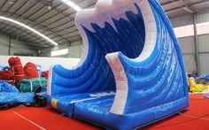 Inflatable Mechanical Surfboard WSP-139