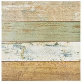 """Found it at Wayfair - Royalty 17.75"""" x 17.75"""" Ceramic Wood Tile in Brown and Beige"""