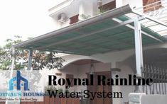 Home - Roynal Rainline - Gutter System - Jabodetabek Water Systems, Metal, Outdoor Decor, House, Home Decor, Moonlight, Home, Haus, Metals