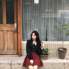 Pretty Korean Girls, Korean Beauty Girls, Cute Korean Girl, Cute Asian Girls, Beautiful Asian Girls, Mode Ulzzang, Ulzzang Korean Girl, Cute Korean Fashion, Korean Fashion Trends
