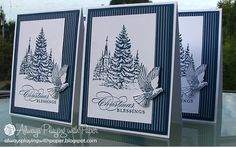 Always Playing with Paper: Merry Monday #36 {Christmas Blessings}