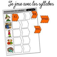 Je joue avec les syllabes (Un monde à lire CP) - La classe de MaoaM