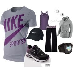 new workout clothes might help with the motivation???