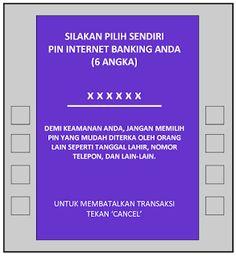 Cara Registrasi Internet Banking KlikBCA di ATM BCA - SpicalandBlog