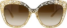 Fashions by Dolce & Gabbana. Disclosure: I'm an affiliate marketer. When you click on the link to the retailer, I earn a commission. DOLCE & GABBANA Metal Butterfly Sunglasses