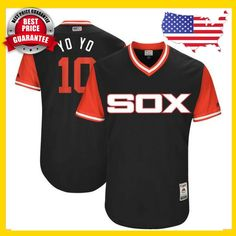 25e62af02 Men s Chicago White Sox 2017 Little League World Series Players Weekend  Jerseys