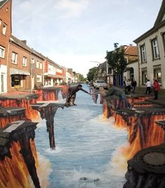 Floor Art and 3D Street Art
