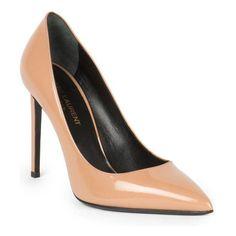 SAINT LAURENT Paris patent leather pumps found on Nudevotion Scarpe In  Vernice 2889a49c34a