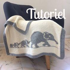 Elephant family blanket, pattern, baby blanket knit, crib bedding, bassinet b. Knitted Baby Blankets, Baby Blanket Crochet, Crochet Baby, Crochet Gifts, Elephant Blanket, Crib Blanket, Intarsia Knitting, Baby Knitting, Baby Patterns