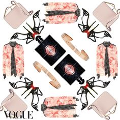 The Vogue Instagram edit: sweet eclecticism featuring YSL Black Opium fragrance. #YSLyourownrules