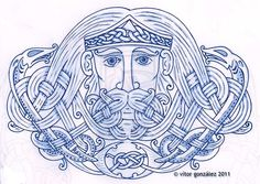 Manannan Mac Lir by twistedstrokes.deviantart.com on @deviantART