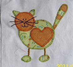 cat appliques