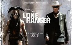 Johnny Depp and Armie Hammer in Disney's The Lone Ranger Movie Blog, I Movie, New Mexico, Westerns, In Theaters Now, Johnny Depp Movies, Movie Sites, The Lone Ranger, Book Trailers