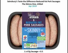 How To Make Sausage, Sainsburys, Slimming World