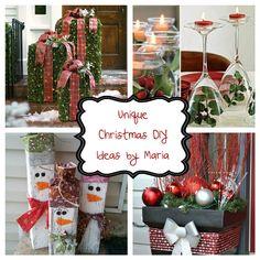 DIY Ideas - Home and Garden by Maria Diy Ideas, Christmas Wreaths, Home And Garden, Holiday Decor, Home Decor, Decoration Home, Room Decor, Craft Ideas, Home Interior Design