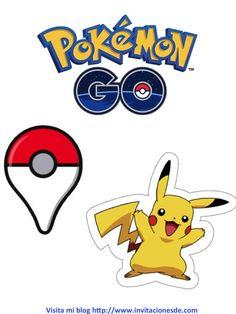 Festa Pokemon Go, Pikachu Pokemon Go, Pokemon Room, Pokemon Printables, Party Printables, Diy Party Themes, Party Ideas, Pokemon Photo, Photo Frame Prop