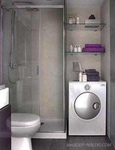 Bạn đang hoặc dự tính sửa sang lại phòng tắm của mình. Nhadep-Nblog.com xin giới thiệu với các bạn 30 mẫu nhà tắm đẹp với diện tích nhỏ...