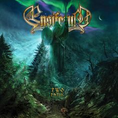 Caratula Frontal de Ensiferum - Two Paths