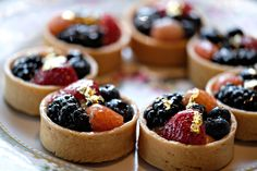 Summer Berry Tartlets Photo by Alison Conklin Photography