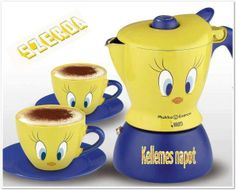 Wallpaper of i LOVE coffee for fans of Coffee 25055430 Cappuccino Maker, Coffee Maker, I Love Coffee, Coffee Time, Amazon Coffee, Looney Tunes, Kitchen Accessories, Tweety, Tea Pots