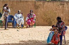 """""""Waiting"""". Case de Santé (Health Centre),Thialle (Senegal)"""