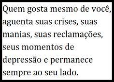 Post  #FALASÉRIO!  : REFLEXÃO DO DIA !