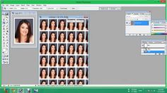 how to make passport size photos on a4 photo sheet afc