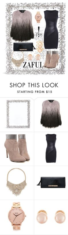"""""""http://www.zaful.com/?lkid=6880"""" by amra-sarajlic ❤ liked on Polyvore featuring Lane Crawford, Bebe, Nixon, Kenneth Jay Lane and Monsoon"""