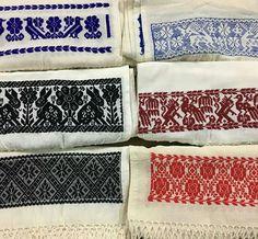 Rebozos de manta bordados a mano por artesanas de Puebla