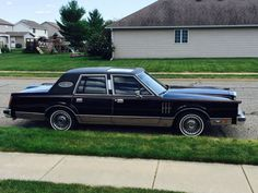 1980 Lincoln Continental Mark VI. The original owner of this Lincoln worked for a carpet company. The top salesman that year would win a new Continental of their choosing. The owner went to their local dealer and chose this model, which had all the bells and whistles, including power locks and windows, cruise control, keyless entry and sunroof. This car also includes a 5.3L 351 c.i. V8 Windsor engine, available only for 1980.