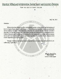 (http://askagentcoulson.tumblr.com/post/22599588476) Heh. #TheAvengers #Coulson