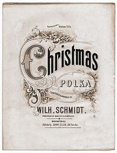 Free Vintage Clip Art - Christmas Sheet Music - The Graphics Fairy