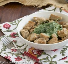 Green as Spring Veal Stew | Who knew a green stew could be so tasty? Dorie Greenspan, that's who!