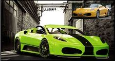 Image result for ferrari lime green Ferrari, Lime, Vehicles, Car, Green, Lima, Automobile, Limes, Cars