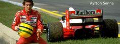 Ayrton Senna facebook cover photo