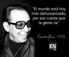 """Actor cómico, Mario Moreno """"Cantinflas""""."""