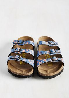 e9943b4c9cec Strappy Feet Sandal in Blue - Narrow. Fashion and comfort go hand in hand  with